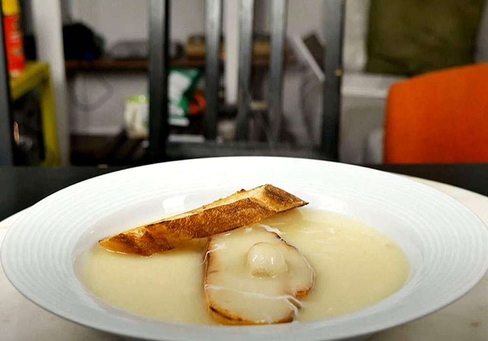 Чесночный суп пюре - пошаговый рецепт, фото 1