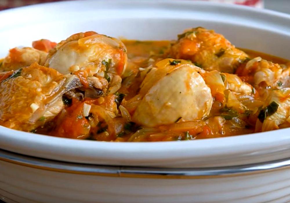 Чахохбили из курицы - пошаговый рецепт, фото 1