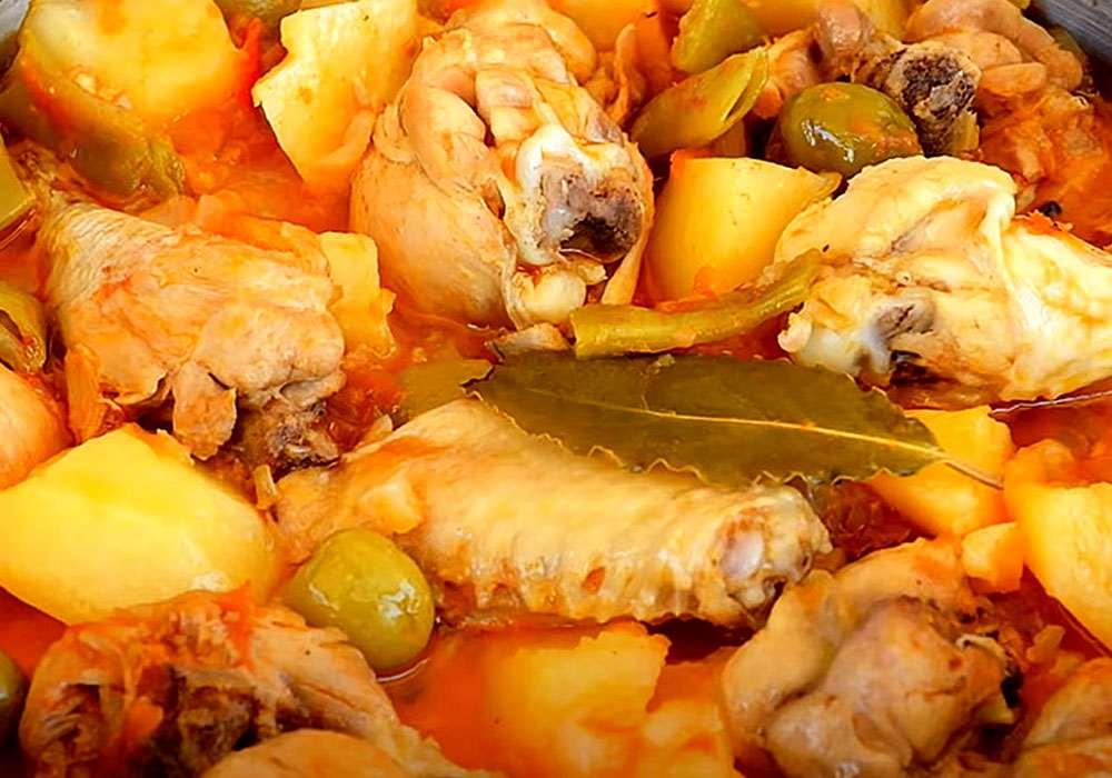 Чанахи из курицы в домашних условиях - пошаговый рецепт, фото 1