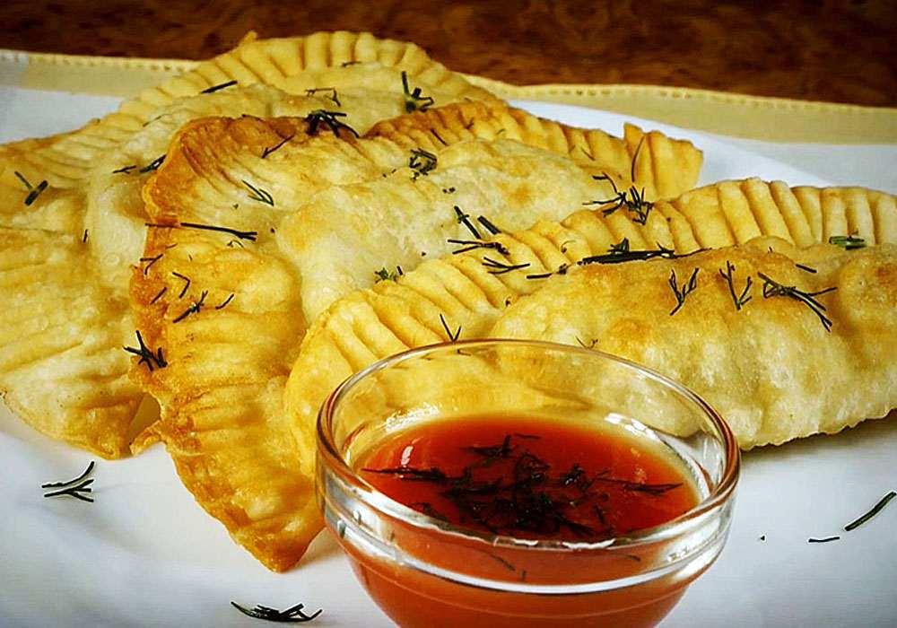 Чебуреки - пошаговый рецепт, фото 1
