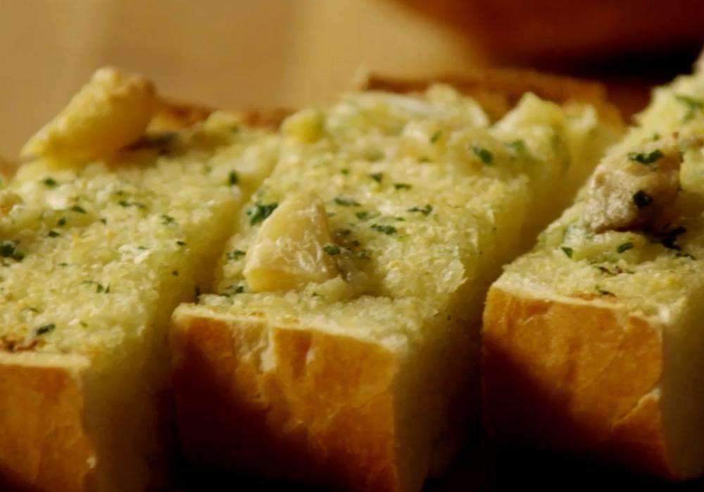 Часникові грінки з білого хліба - покроковий рецепт, фото 1