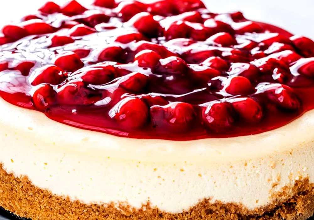 Чізкейк вишневий - покроковий рецепт, фото 1