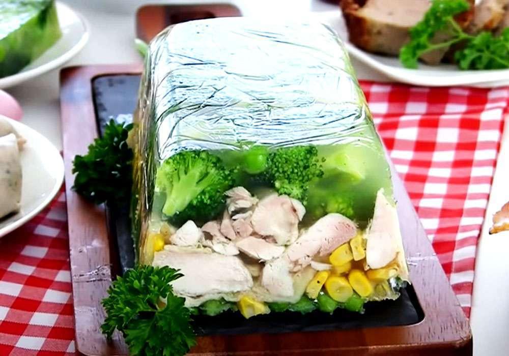 Холодец из курицы - пошаговый рецепт, фото 1