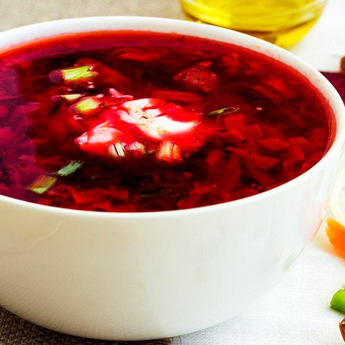Борщ з червоною капустою - покроковий рецепт, фото 1
