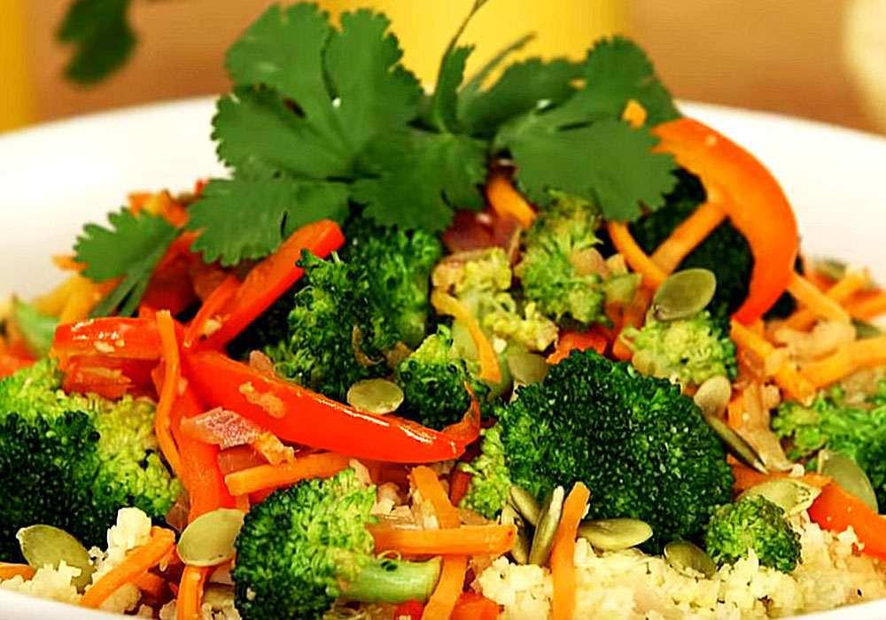 Цветная капуста по-корейски - пошаговый рецепт, фото 1