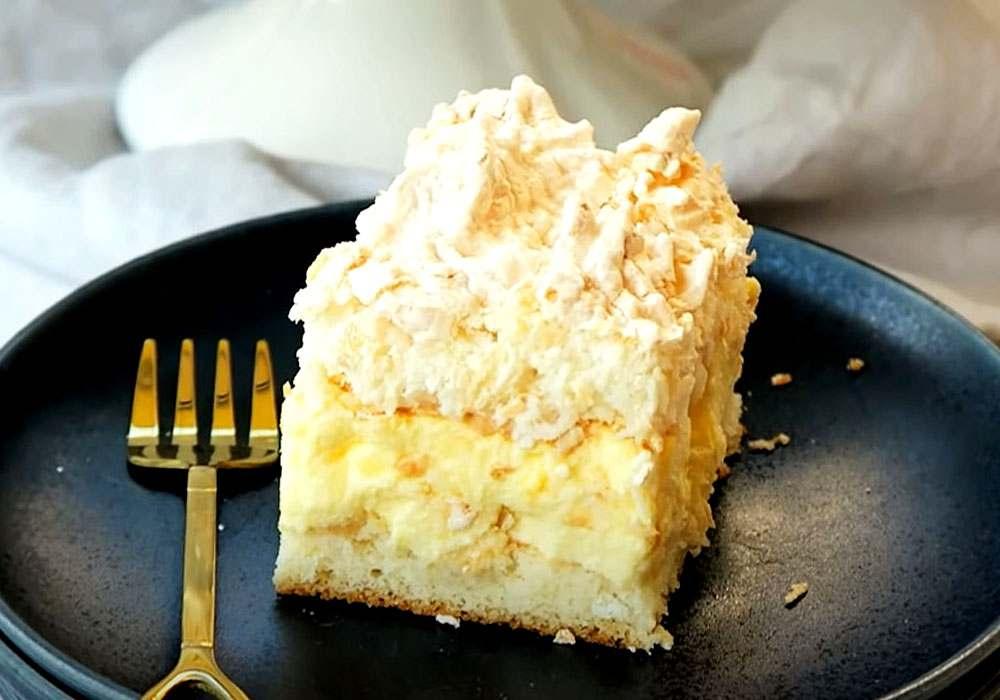 Датский кокосовый пирог - пошаговый рецепт, фото 1