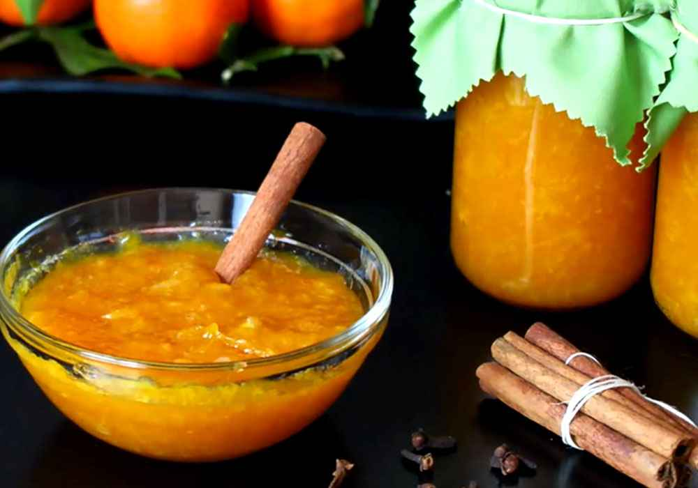 Джем из мандаринов - пошаговый рецепт, фото 1