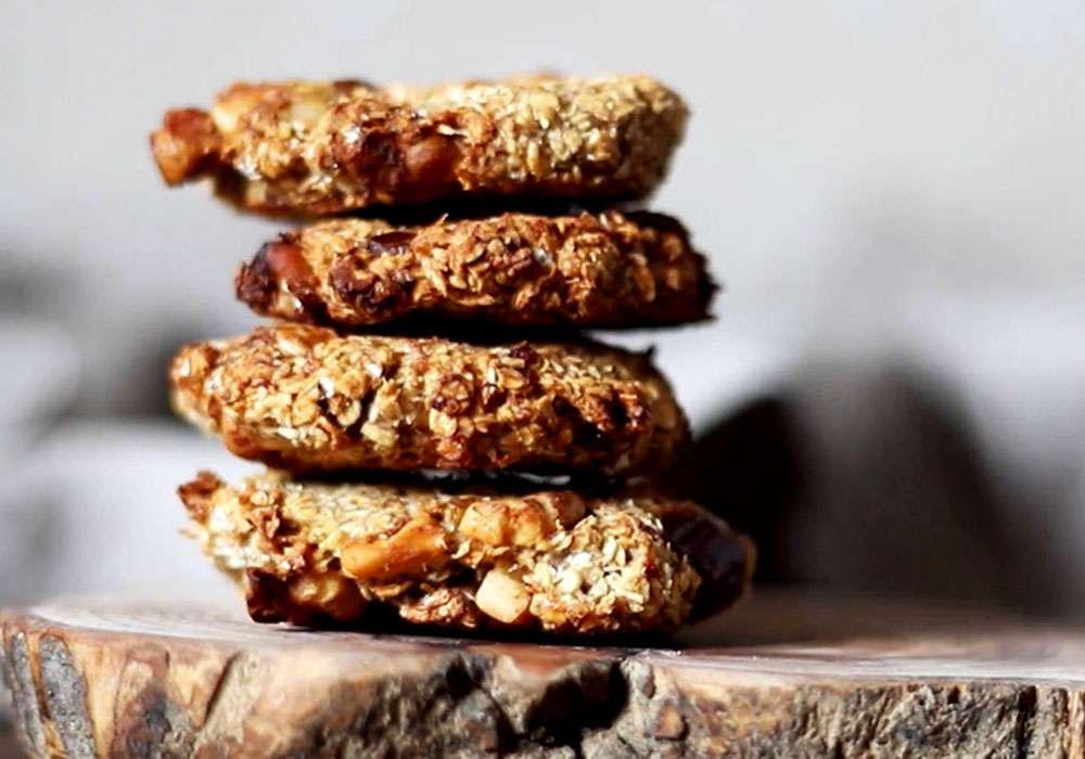 Диетическое овсяное печенье без муки - пошаговый рецепт, фото 1