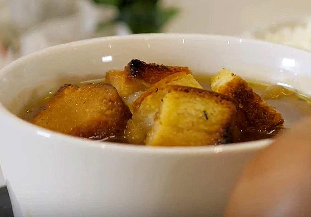 Дієтичний цибулевий суп - покроковий рецепт, фото 1