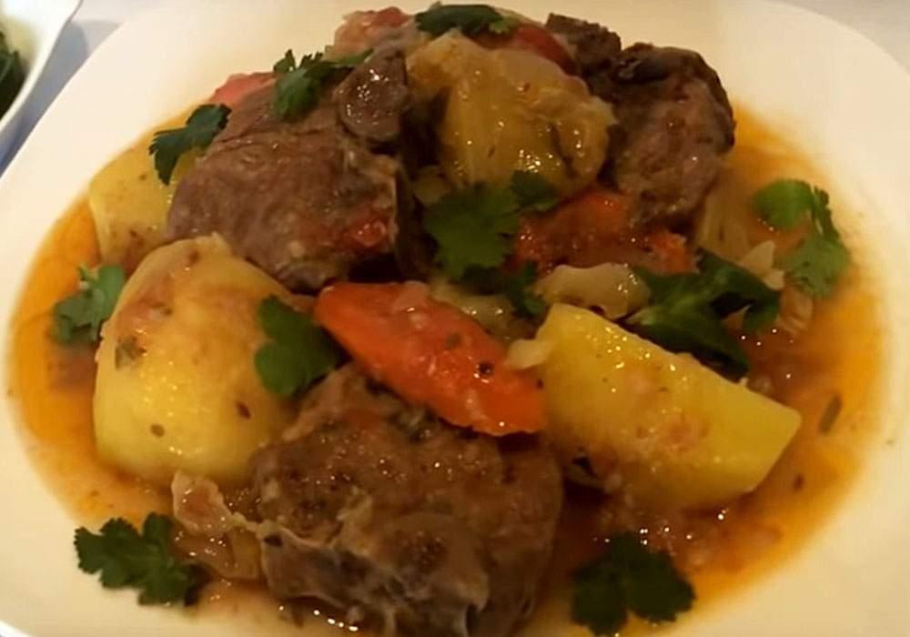 Димляма з бараниною по-киргизьки - покроковий рецепт, фото 1