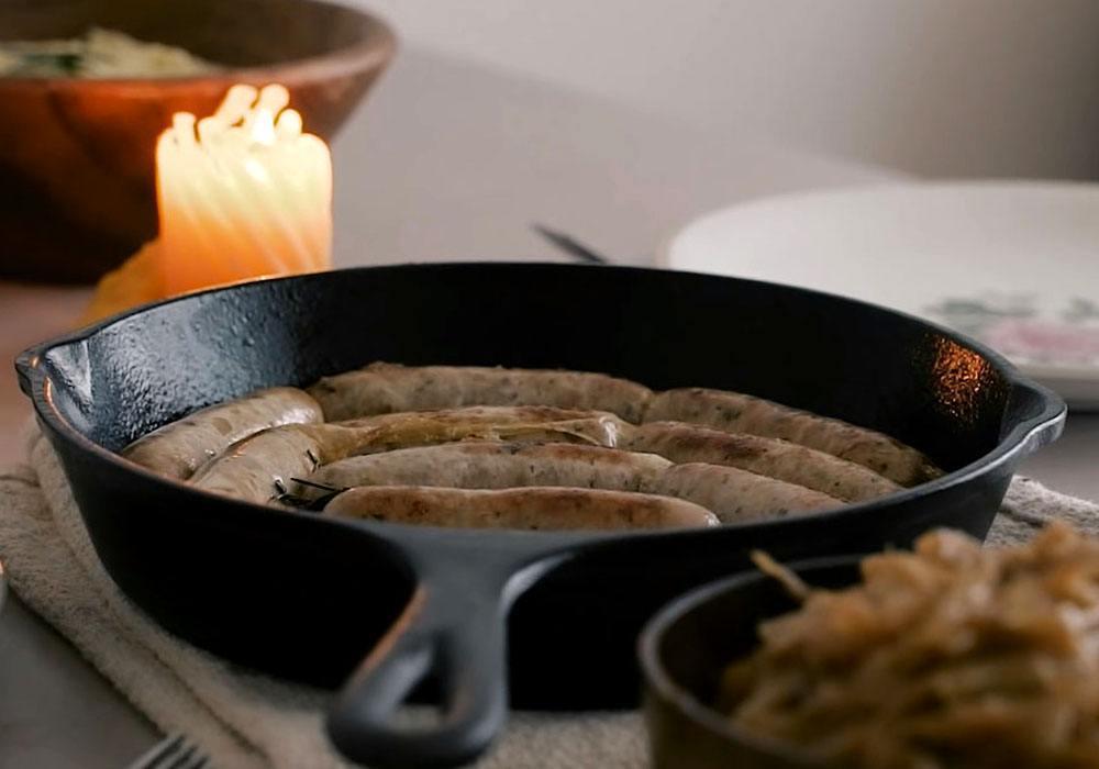 Домашняя колбаса на сковороде - пошаговый рецепт, фото 1