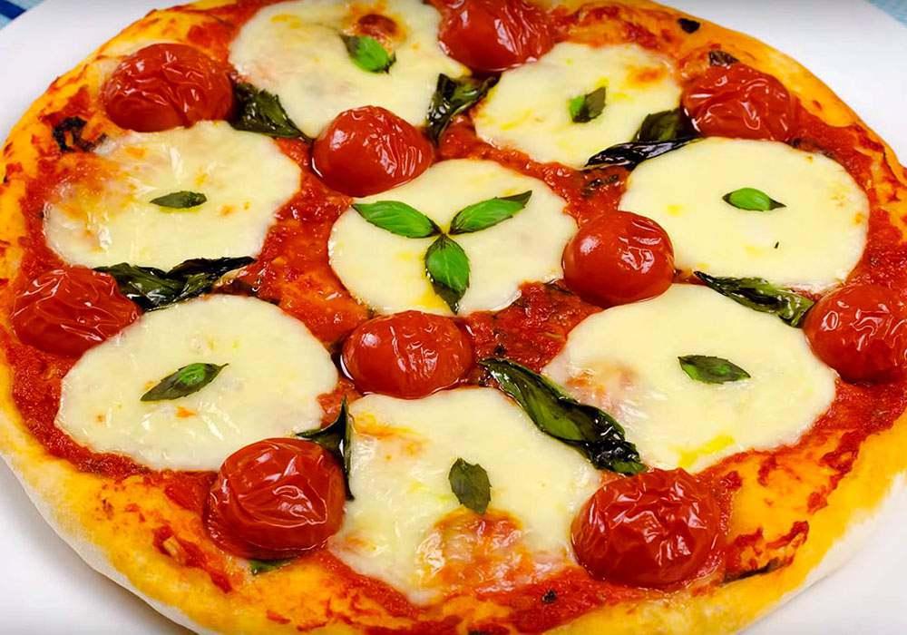 Домашняя пицца с моцареллой - пошаговый рецепт, фото 1