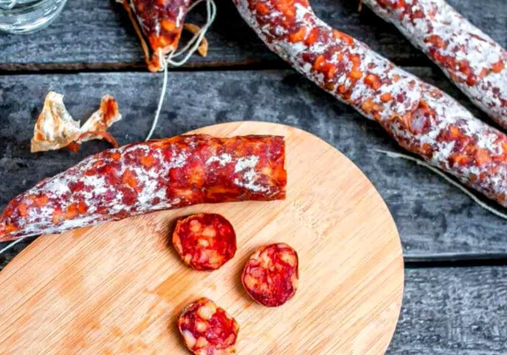 Домашняя сыровяленая колбаса - пошаговый рецепт, фото 1