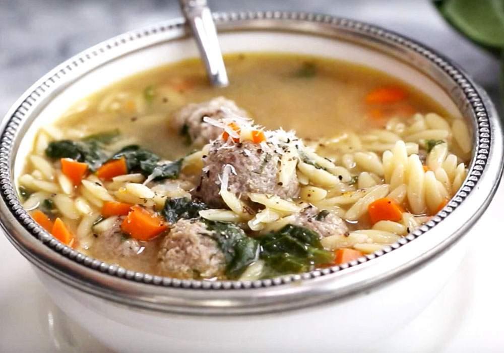 Домашний суп с фрикадельками - пошаговый рецепт, фото 1