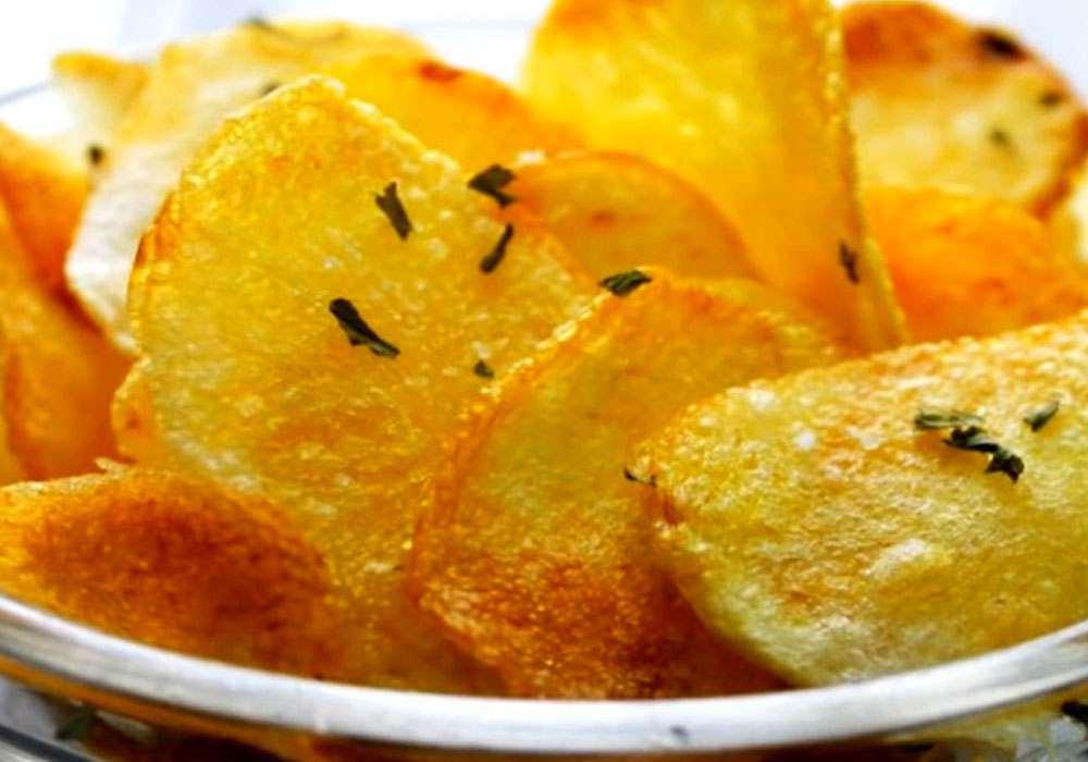 Домашние картофельные чипсы - пошаговый рецепт, фото 1