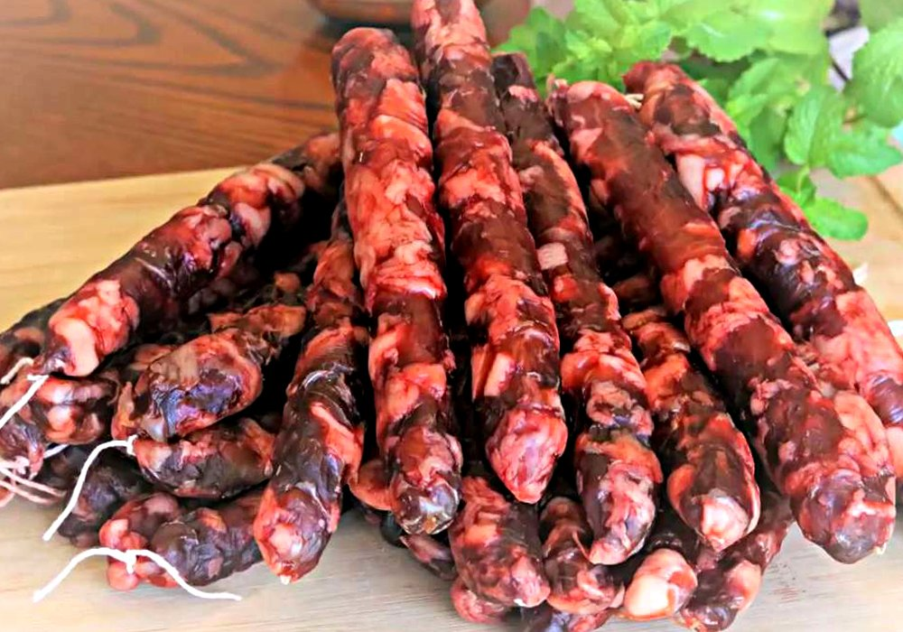 Домашняя сырокопченая колбаса - пошаговый рецепт, фото 1