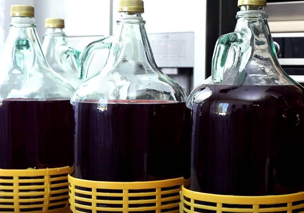 Домашнее ягодное вино из ягод - пошаговый рецепт, фото 1