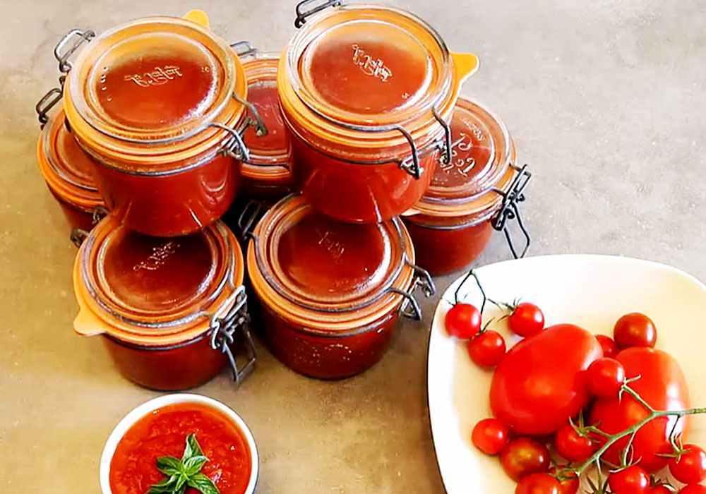 Домашний итальянский томатный соус с базиликом - пошаговый рецепт, фото 1