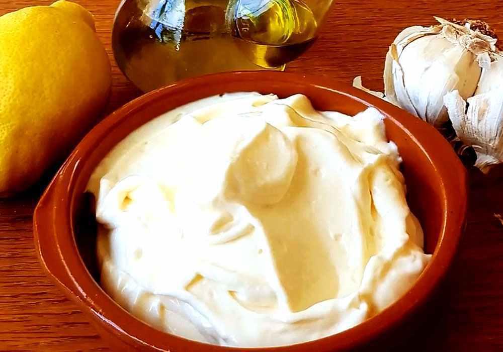 Домашний майонез с чесноком - пошаговый рецепт, фото 1