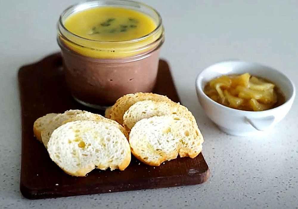 Домашний паштет из куриной печени - пошаговый рецепт, фото 1