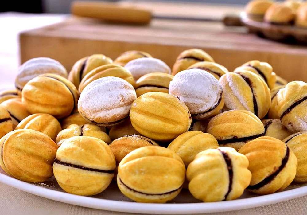 Домашнее печенье Орешки - пошаговый рецепт, фото 1
