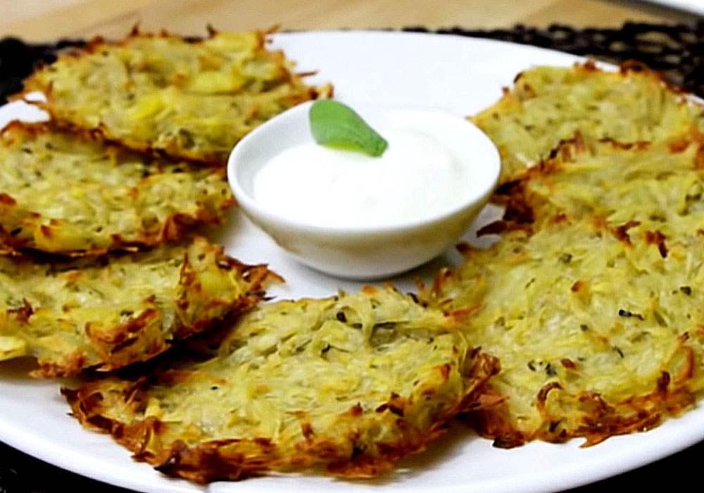 Деруни картопляні без борошна - покроковий рецепт, фото 1