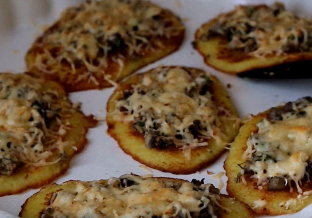 Драники с грибами - пошаговый рецепт, фото 1