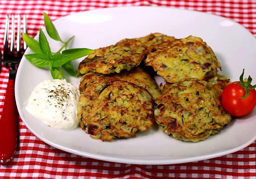 Драники с кабачком - пошаговый рецепт, фото 1