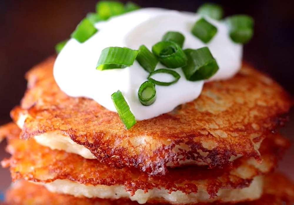 Деруни з м'ясом на сковороді - покроковий рецепт, фото 1