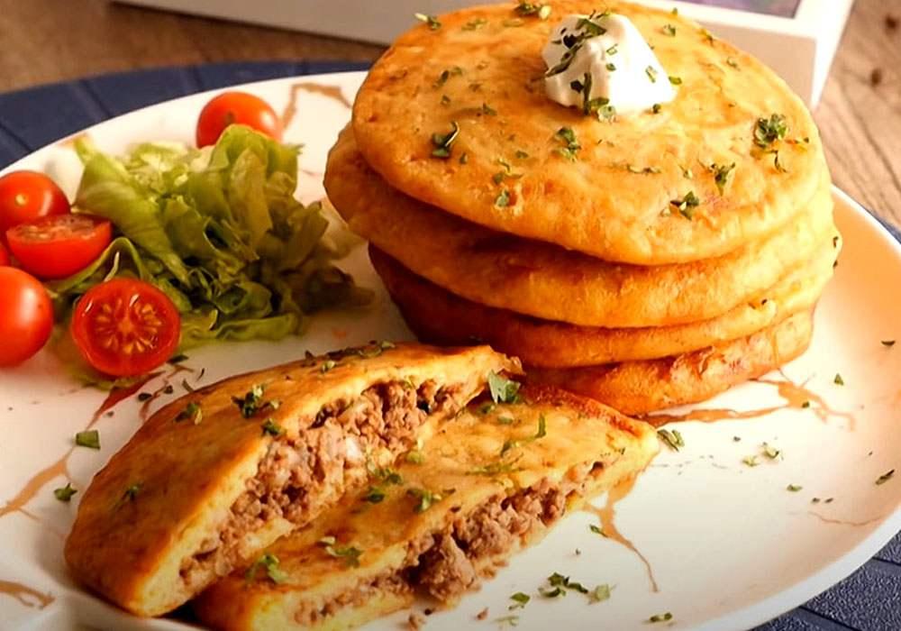 Драники с мясом - пошаговый рецепт, фото 1
