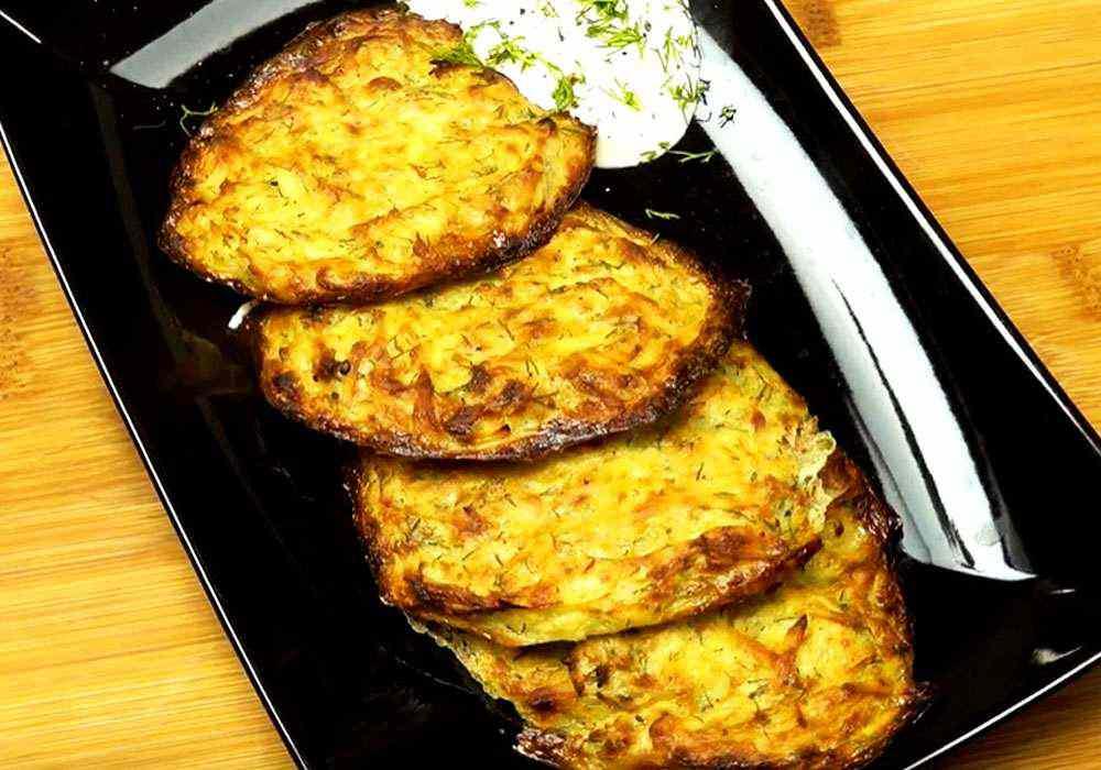 Драники в духовке картофельные - пошаговый рецепт, фото 1