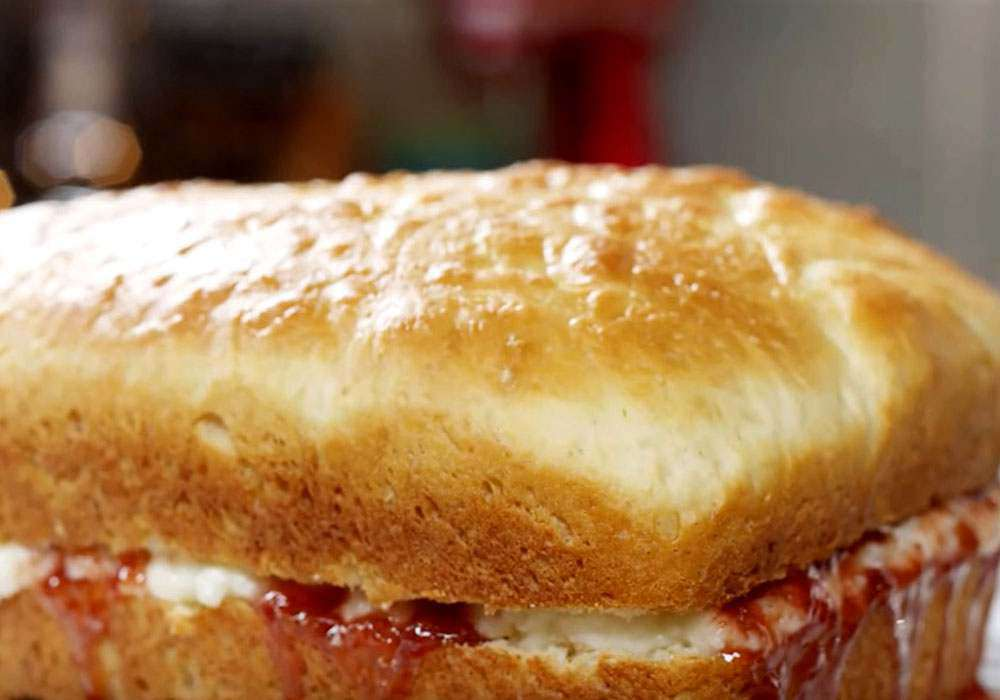 Дрожжевой пирог с вареньем - пошаговый рецепт, фото 1