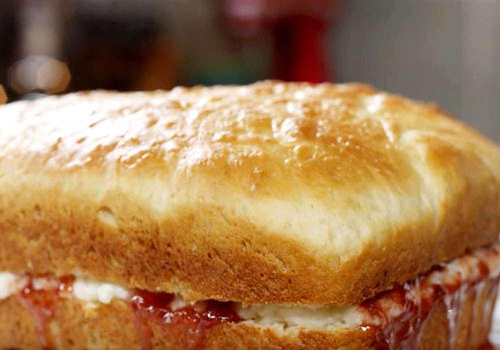 Дріжджовий пиріг з варенням - покроковий рецепт, фото 1