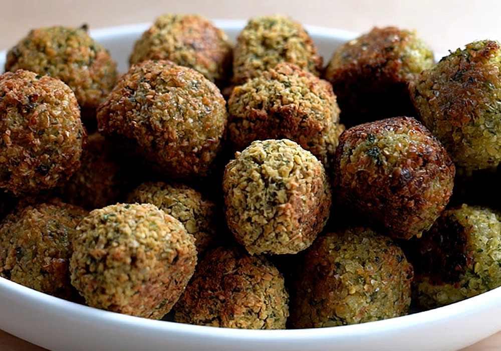 Фалафели со свежей зеленью - пошаговый рецепт, фото 1