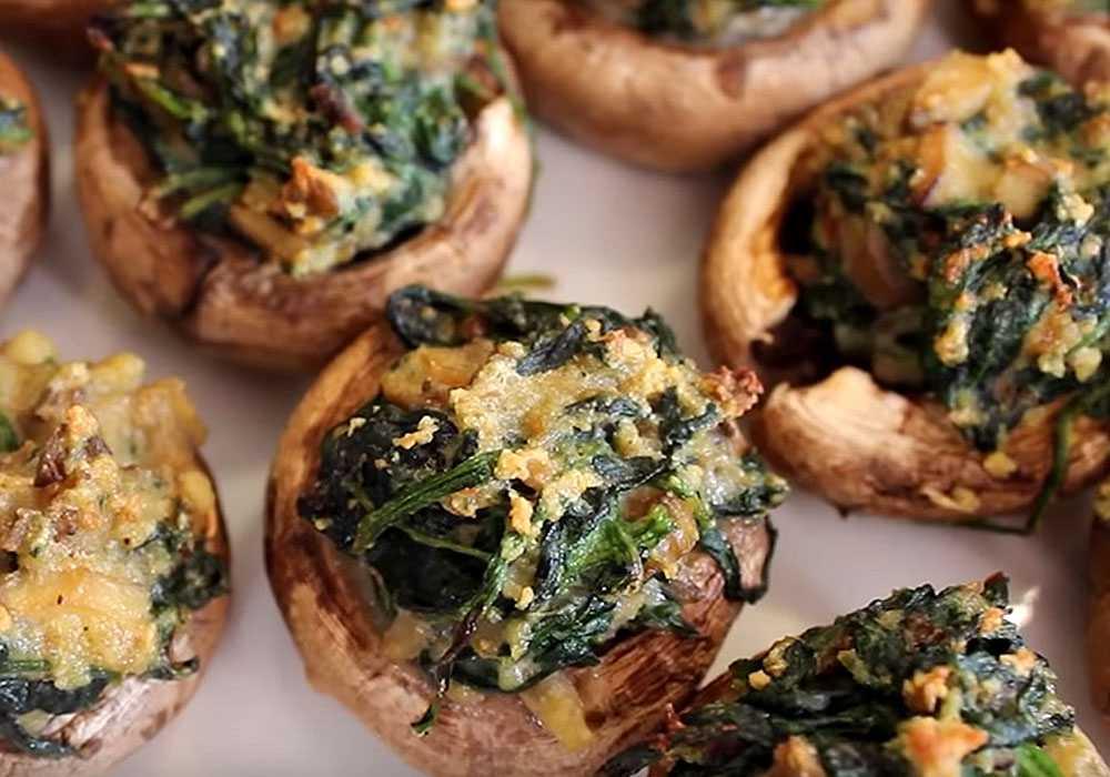 Фаршированные грибы - пошаговый рецепт, фото 1
