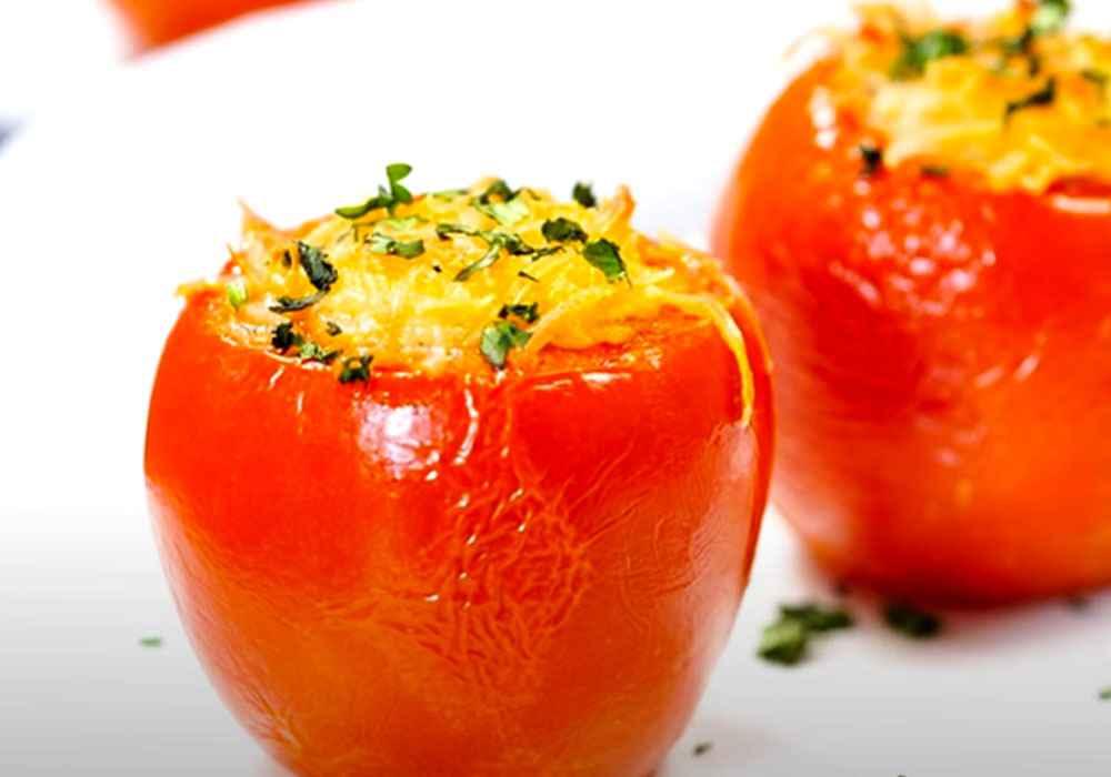Фаршированные помидоры в духовке - пошаговый рецепт, фото 1
