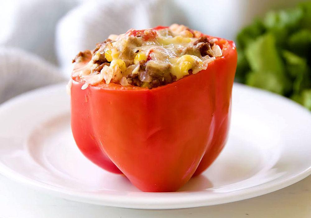 Фаршированный перец с мясом и рисом - пошаговый рецепт, фото 1