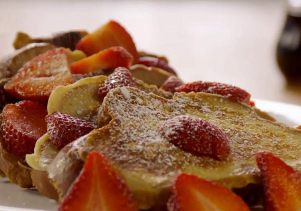 Французские гренки - пошаговый рецепт, фото 1