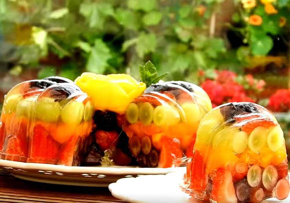 Фруктовий торт - покроковий рецепт, фото 1