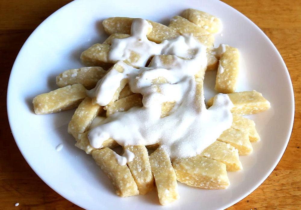 Галушки з сиру - покроковий рецепт, фото 1