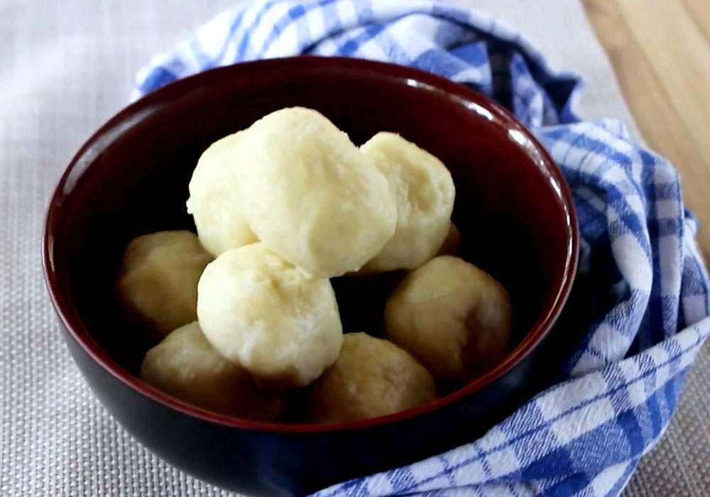 Галушки с картошкой - пошаговый рецепт, фото 1