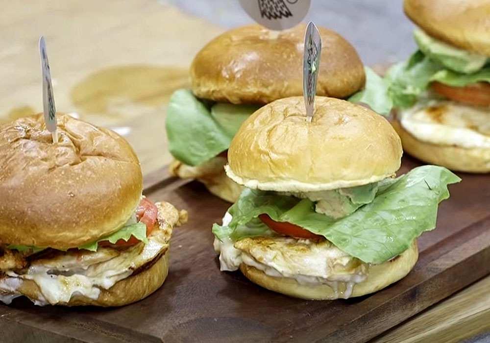 Гамбургер с куриным филе - пошаговый рецепт, фото 1