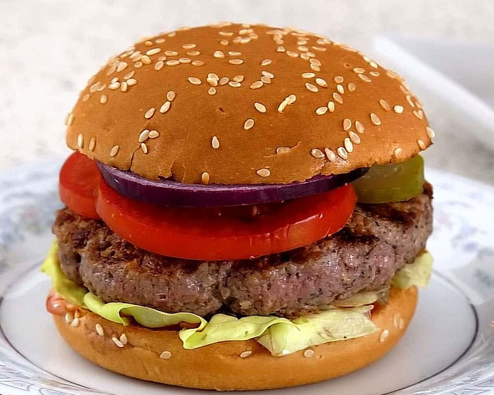 его подножья гамбургер в домашних условиях рецепт фото пошагово двух минутах