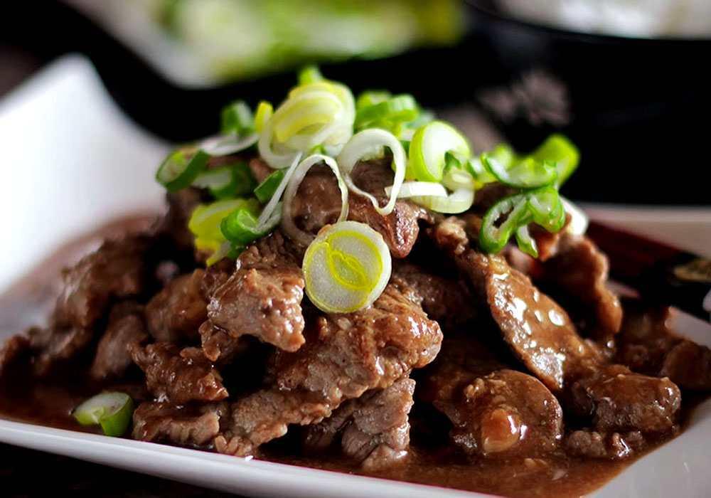 Смажена маринована яловичина - покроковий рецепт, фото 1