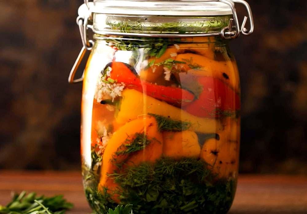 Жареный перец - пошаговый рецепт, фото 1
