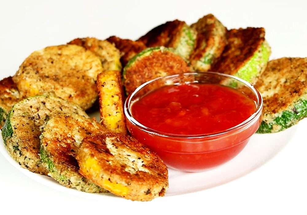 Жареные кабачки - пошаговый рецепт, фото 1