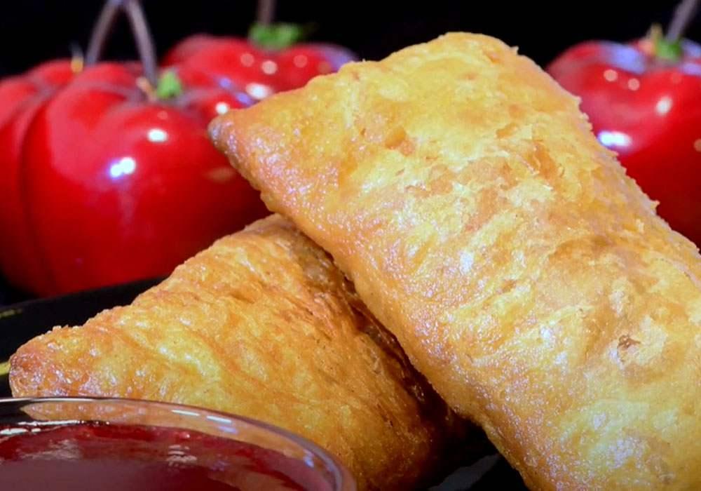 Жареные пирожки с яблоками и корицей - пошаговый рецепт, фото 1