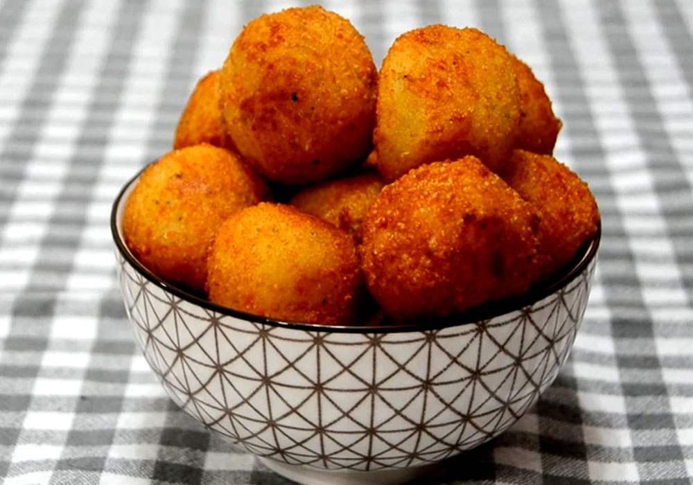 Жареные сырные шарики - пошаговый рецепт, фото 1