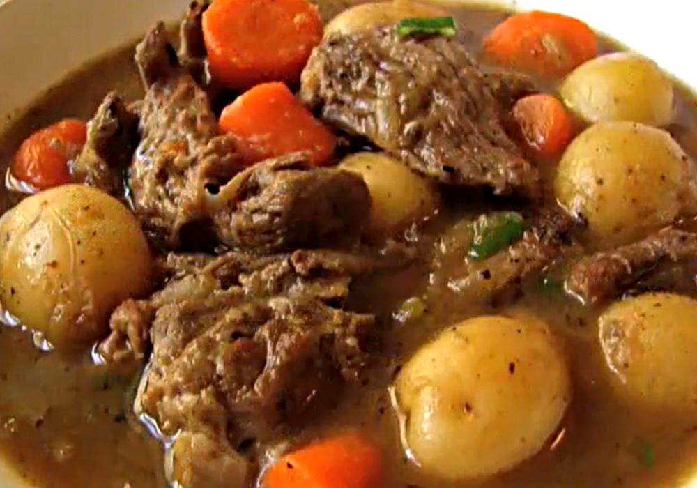 Жаркое из мяса - пошаговый рецепт, фото 1
