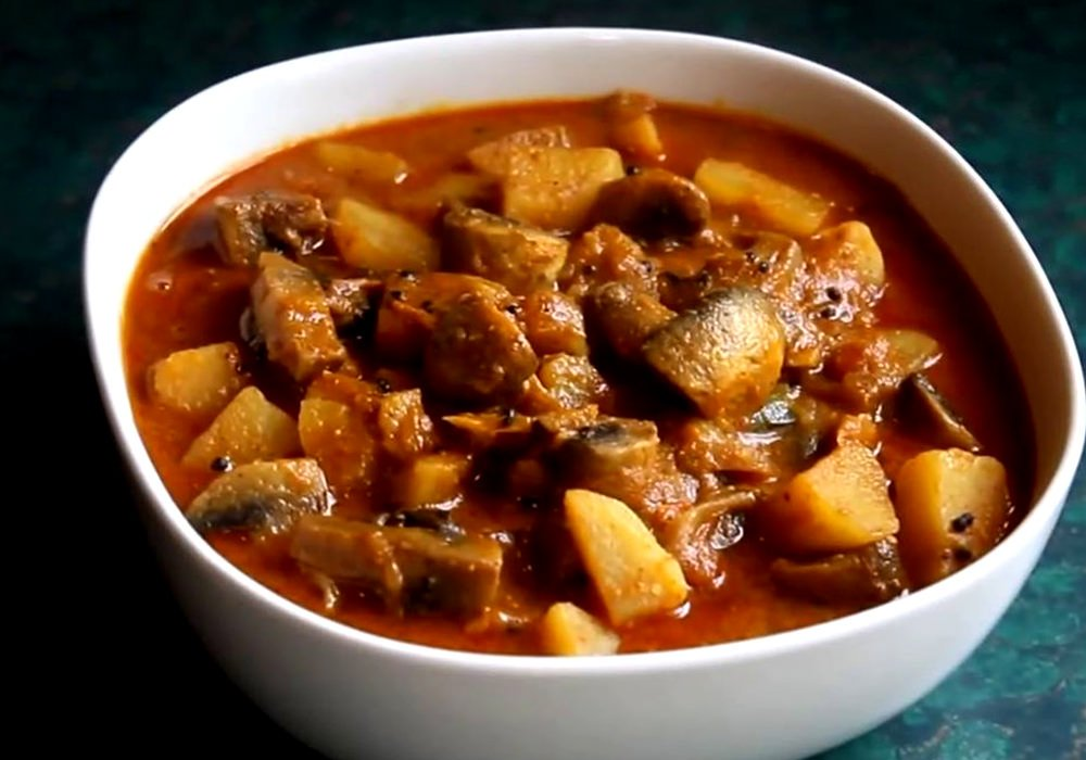 Печеня з грибами - покроковий рецепт, фото 1
